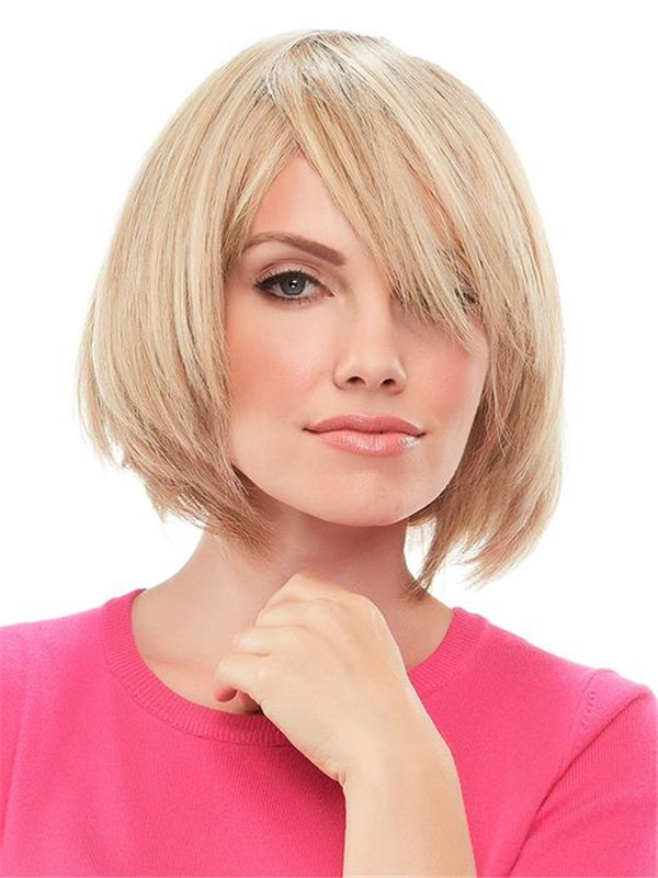 Blond Top Exclusive Colors Human Hair Topper Half
