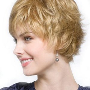 Blonde And Red Tova Synthetic Wig For Women