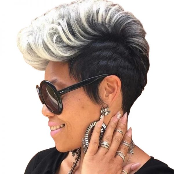 Chic Blonde Short Curly Basic For Women Cap Synthetic Wig