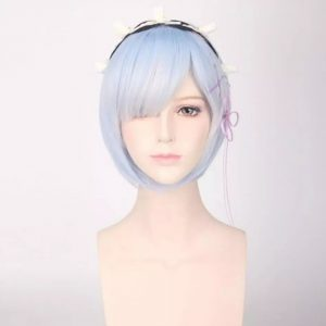 Chic Gray Short Straight For Women Basic Cap Synthetic Wig